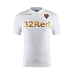 2017-2018 Leeds United Kappa Home Football Shirt