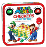 Super Mario Boardgame Checkers Collector's Game