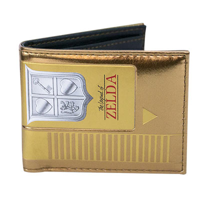 LEGEND OF ZELDA Gold Cartridge Wallet