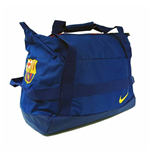 2017-2018 Barcelona Nike Stadium Duffel Bag (Blue)