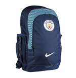 2017-2018 Man City Nike Stadium Backpack (Navy)
