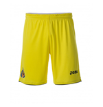 2017-2018 Villarreal Joma Home Football Shorts (Yellow)