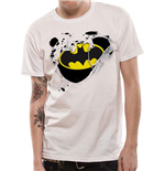 DC Comics T-Shirt Batman Torn Logo