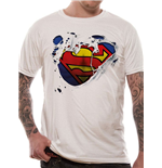DC Comics T-Shirt Superman Torn Logo