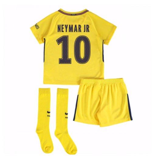 competitive price 401db d5a50 2017-18 PSG Away Mini Kit (Neymar Jr 10)