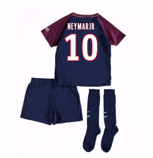 timeless design 21612 7163d 2017-18 Psg Home Mini Kit (Neymar Jr 10)