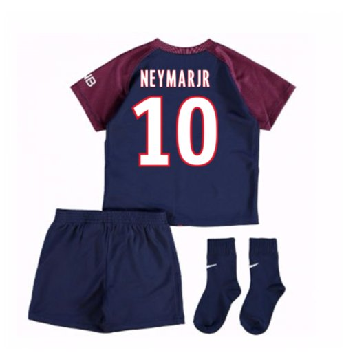 pretty nice 54d78 944ca 2017-18 Psg Home Baby Kit (Neymar Jr 10)