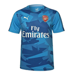 2017-2018 Arsenal Puma Camo Stadium Jersey (Blue)