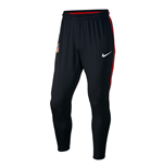 2017-2018 Atletico Madrid Nike Training Pants (Black)