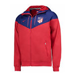 2017-2018 Atletico Madrid Nike Authentic Windrunner Jacket (Red)