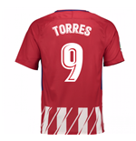 2017-2018 Atletico Madrid Home Shirt (Torres 9)