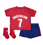 2017-2018 Atletico Madrid Home Baby Kit (Griezmann 7)