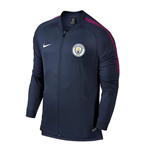 2017-2018 Man City Nike Core Trainer Jacket (Navy)