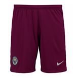 2017-2018 Man City Away Nike Football Shorts (True Berry)
