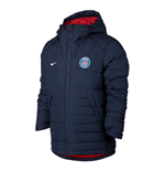 2017-2018 PSG Nike Medium Down Fill Jacket (Navy)