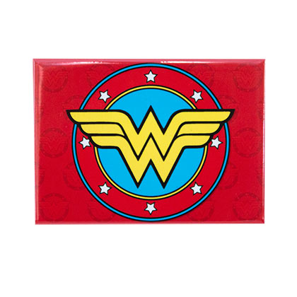 WONDER WOMAN Logo Magnet