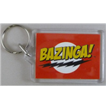 Big Bang Theory Keyring - Bazinga