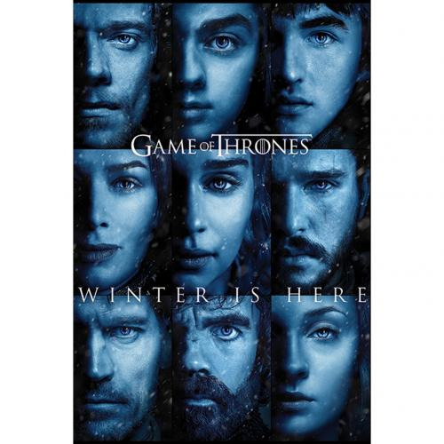 Game Of Thrones Poster Winter Is Here 209