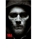 Sons of Anarchy Poster - Jax Skull - 61X91,5 Cm