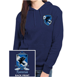 Harry Potter Ladies Hooded Sweater House Ravenclaw
