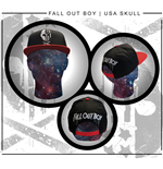 Fall Out Boy - Usa Skull Cap