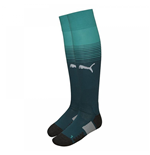 2017-2018 Arsenal Home Goalkeeper Socks (Deep Teal)