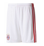 2017-2018 Bayern Munich Adidas Third Shorts (White) - Kids