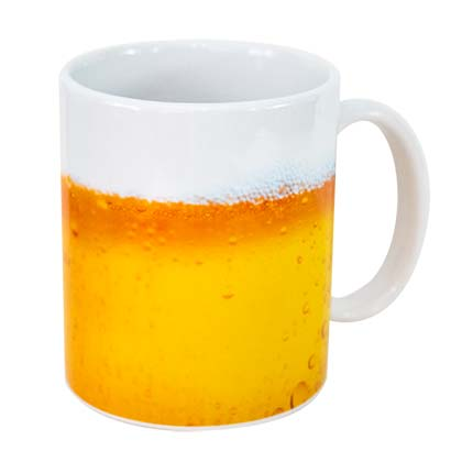 Beer Design Ceramic Coffee Mug