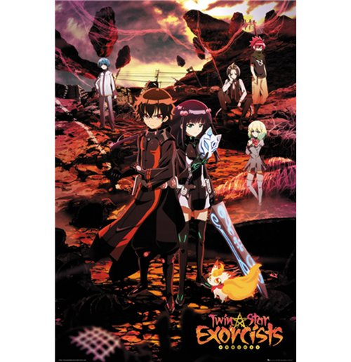 Twin Star Exorcists Poster 272373