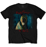 Pink Floyd Men's Tee: The Wall Scream