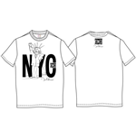 John Lennon Men's Premium Tee: NYC Power to the People