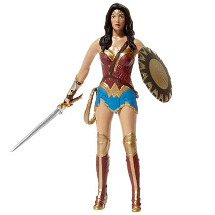 WONDER WOMAN Bendable Action Figure