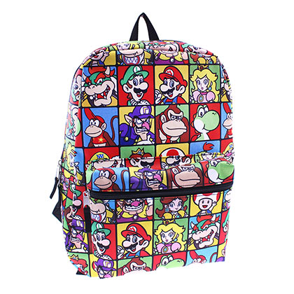 Super MARIO Bros. All Over Print Backpack