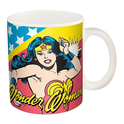 WONDER WOMAN Retro Coffee Mug