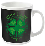 Thin Lizzy Mug Four Leaf Clover (WHITE)