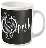 Opeth Mug Logo (WHITE)