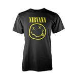 Nirvana T-shirt Smiley Logo