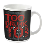 Dead Kennedys Mug Too Drunk (WHITE)