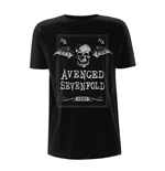 Avenged Sevenfold T-shirt Face Card