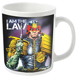2000AD Judge Dredd Mug I Am The Law