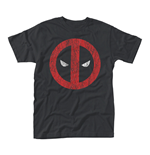 Marvel Deadpool T-shirt Cracked Logo