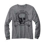 Uncharted 4 Long Sleeves T-shirt Skull