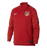 2017-2018 Atletico Madrid Nike Drill Top (Red) - Kids