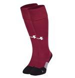 2017-2018 Aston Villa Home Football Socks (Maroon)