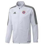 2017-2018 Bayern Munich Adidas Presentation Jacket (Crystal)