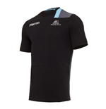 2017-2018 Glasgow Warriors Rugby Poly Cotton Tee (Black)