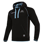 2017-2018 Glasgow Warriors Rugby Official Heavy Cotton Hoody (Black)