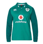 2017-2018 Ireland Home LS Classic Rugby Shirt