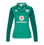 2017-2018 Ireland Home Classic LS Rugby Shirt (Womens)