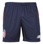 2017-2018 Lille Home Shorts (Navy)